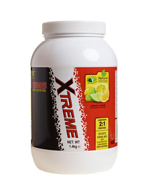 High5 Energy Source Xtreme - Nutrition sport - agrume, 1,4 km avec caféine, électrolyte et magnésium